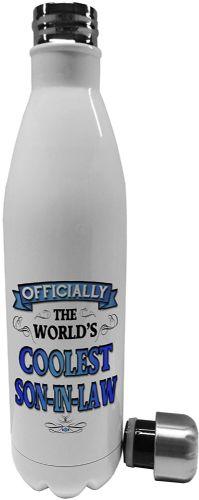 750ml Officially The Worlds Coolest (Male Relation)  (Blue)